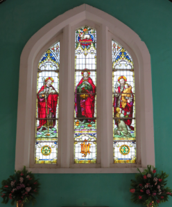 Christ Church, stained glass