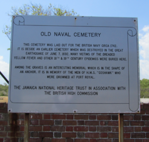 Naval Cemetery Sign 2