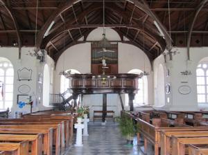 St Peter's inside the church, Pt Royal