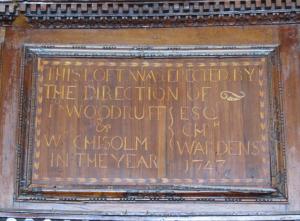 St Peter's, Organ Loft, Pt Royal