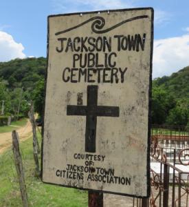 Jackson Town Public Cemetery, Tre